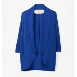 Wilfred Aritzia Chevalier jacket royal/navy